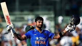 Virat Kohli scored 106 off 92 balls, 25th ODI ton equals Kumar Sangakkara's record