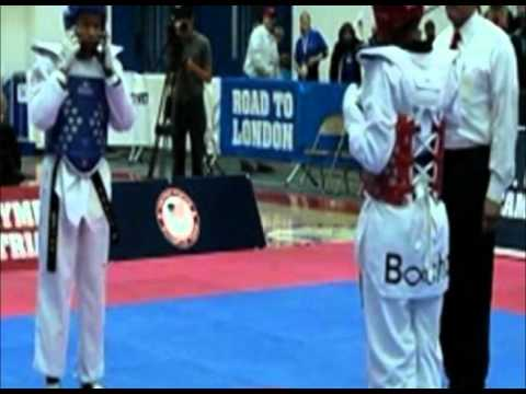 2012 us olympic Taekwondo team trials