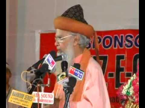Ghousul Wara Conference By Hazrat Maulana Hasmi Miya Part 2 video