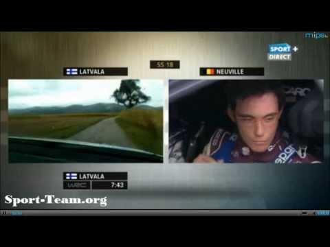 WRC France 2013 SS18 Live Sport +