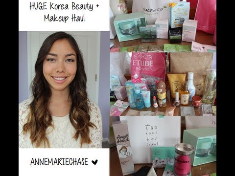 HUGE Korea Makeup + Beauty Haul | Etude House, The Face Shop, Too Cool For School, more!
