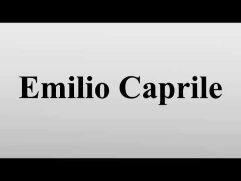 Emilio Caprile Emilio Caprile (* 30.September 1928 in Genua) ist ein ehemaliger italienischer Fu�ballspieler, der während seiner aktiven Laufbahn für diverse Vereine sowie für die italienische...