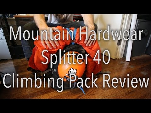 Mountain Hardwear Splitter 40 - Climbing Pack Review