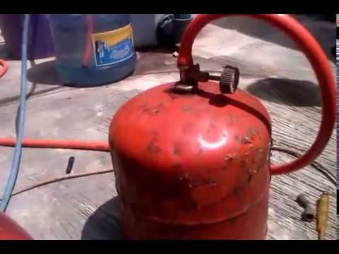 How to store biogas  in LPG cylinder