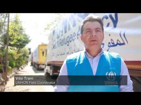 Turkey: Aid Crosses The Border Into Syria