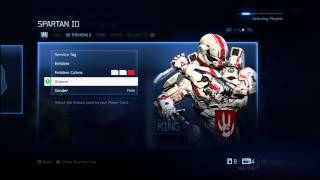 Halo 4 - Rank 50 and Specialization