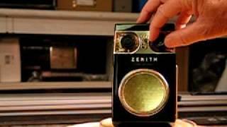 1957 Zenith 500RD 8 Transistor Transistor Radio
