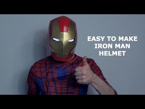 How to make an Iron Man Helmet