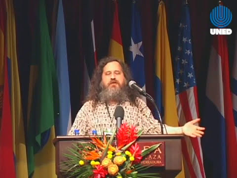 Richard Stallman - Software libre y educación
