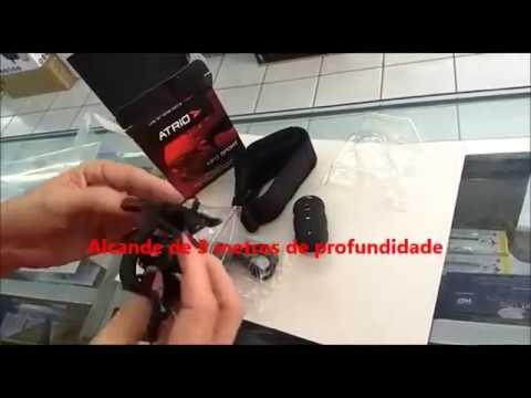MP3 Sport Atrio Aquatico Preto 8GB a prova d`agua