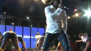 Demarco and Redsan Perform Steadywine/ Kude Kude At The Carnivore.Courtesy Grapevine