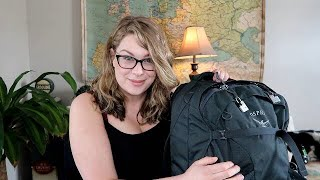 Five Weeks in a Backpack // Packing my Osprey Farpoint 40 // Minimalist Packing