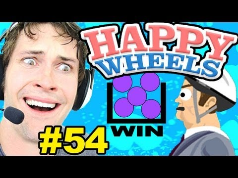 Happy Wheels - BALL THROWING OWNAGE - Part 54