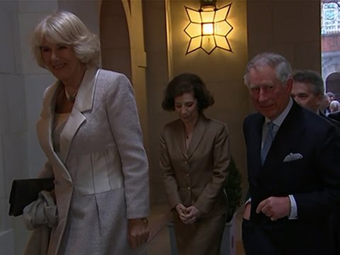 Prince Charles and Camilla Visit Mount Vernon