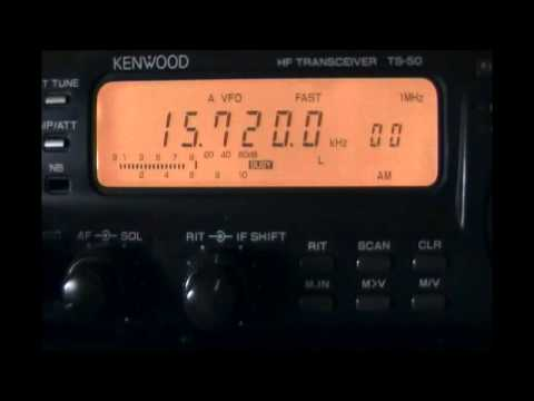 NHK World Radio Japan (relay Talata-Volonondry, Madagascar) - S/on english to Africa - 15720 kHz