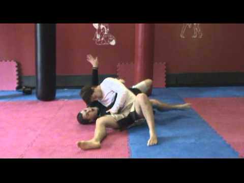 Back Door Escape from Kesa Gatame Image 1