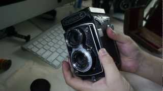 Yashica C Twin Lens Reflex TLR Camera