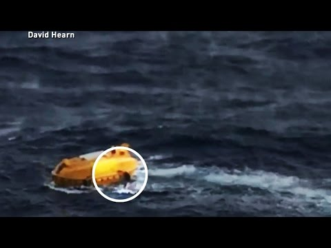 Video of Man Overboard: Rescued After Fall From Cruise Ship