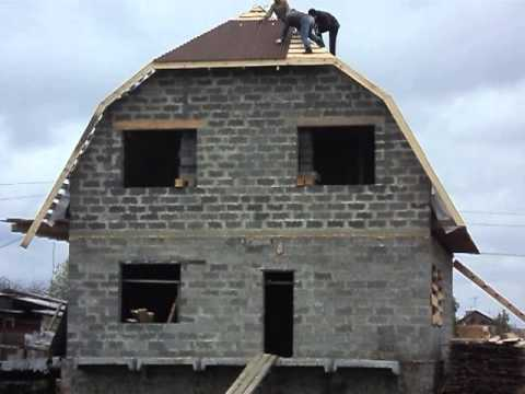 Мой дом своими руками из арболита