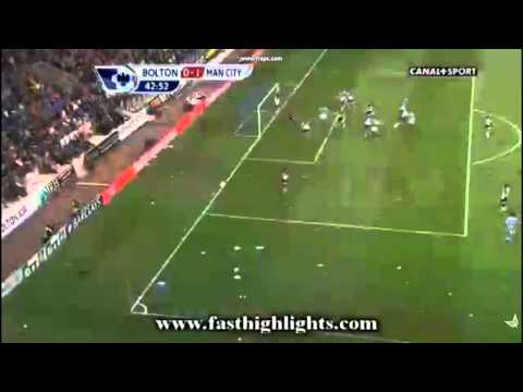 joleon Lescott  luckiest goal ever!