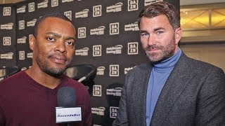 Eddie Hearn Offers Feelings on Errol Spence after Car Crash