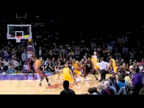 Kobe Bryant Game Winning shot vs Miami