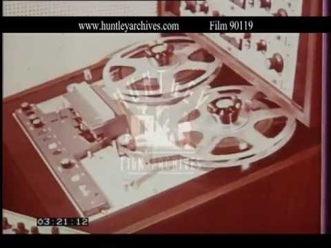 1960's Recording Studio, 1960's - Film 90119