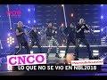 CNCO en Nuestra Belleza Latina 2018 Backstage por Wow La Revista