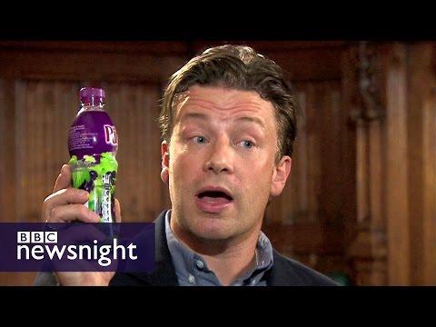 Jamie Oliver: Time to get 'medieval' on sugar - Newsnight