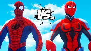 ULTIMATE SPIDERMAN VS SPIDER-MAN (ENDS OF THE EARTH)