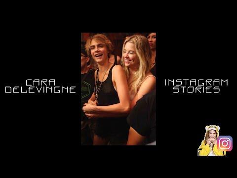 Cara Delevingne | Instagram Stories | 9-10 August 2018 w/Ashley Benson, Bella Hadid, Kendall Jenner
