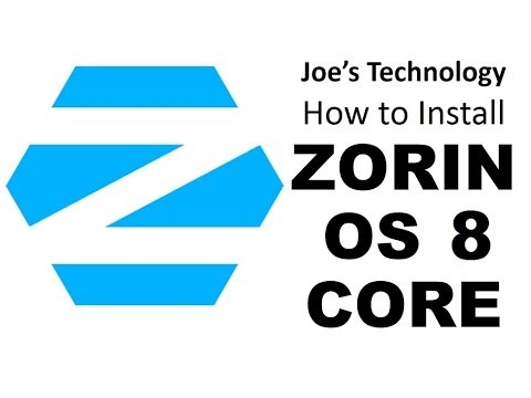 Linux Step by Step: How To Install Zorin 8 64-bit Core. a good replacement for Windows XP