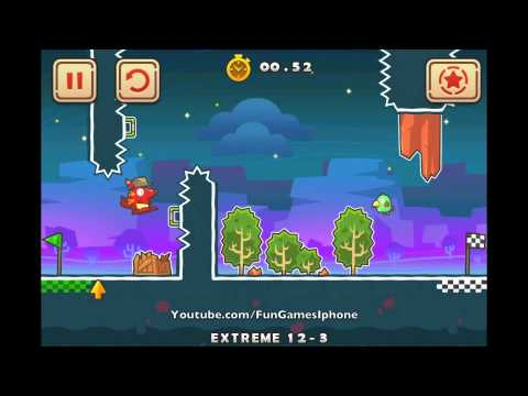 Run roo Run chapter 12 extreme Walkthrough 12-1 to 12-6 3 stars app of the week apple store