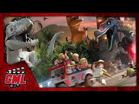 LEGO Jurassic World - Part 3 : Gyrosphere Valley - 2