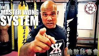 What to Say & Do when BIG GUYS Want to Fight YOU | the Master Wong Approach - Wing Chun