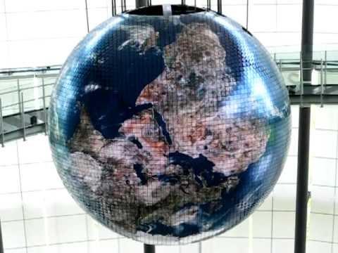 globe at tokyo miraikan museum