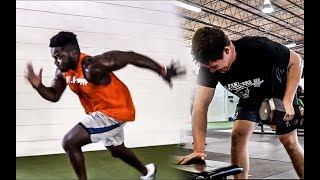 Acceleration and Upper Body [Footbal Training]