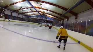 video Couple of laps in warm up for Medway Eagles ice hockey club. Footage taken from GoPro camera.