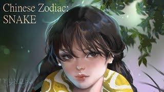 Painting Chinese Zodiac: Snake