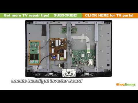 LCD TV Repair Tutorial - How to Replace the Backlight Inverter Board in LG & Philips LCD TVs