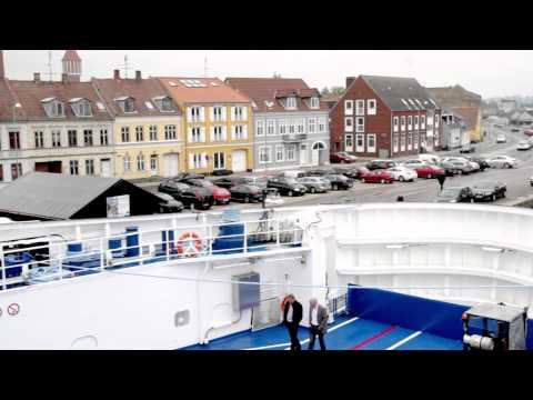 Færgen Langeland indviet i Nakskov Havn