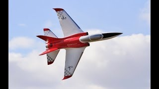 "AVIATION DESIGN ""SCORPION"" RC SPORTS JET DISPLAY - DARREN AT BMFA NATIONALS FLIGHTLINE - 2017"