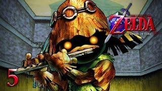 SECRETS EVERYWHERE! - Let's Play - The Legend of Zelda: Ocarina of Time 3D - 5 - Walkthrough