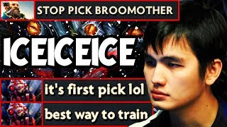 iceiceice Broodmother Mid - Training For Ti8 - Mineksi Dota 2 Update 7.18