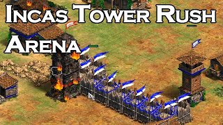 Incas Tower Rush on Arena!