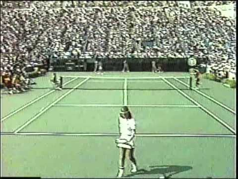 Chris Evert d. Hana Mandlikova - 1983 US Open QF