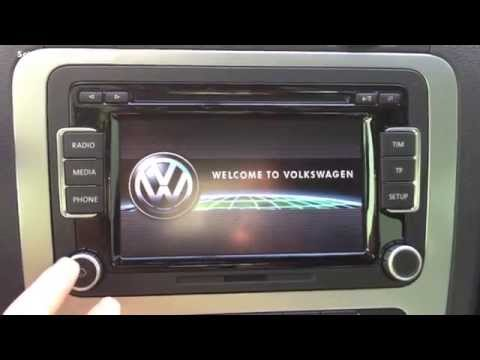 Volkswagen RCD 510 Review 2014 [HD]