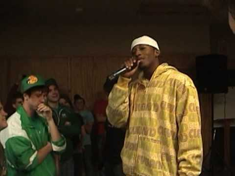 Denny rap off with Lecrae at Retreat 07 Video