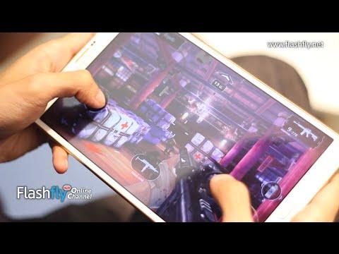 Flashfly Online Channel : ทดสอบเล่นเกมด้วย Samsung Galaxy Tab S 8.4 โดยเกมเมอร์ดีกรีแชมป์ระดับประเทศ