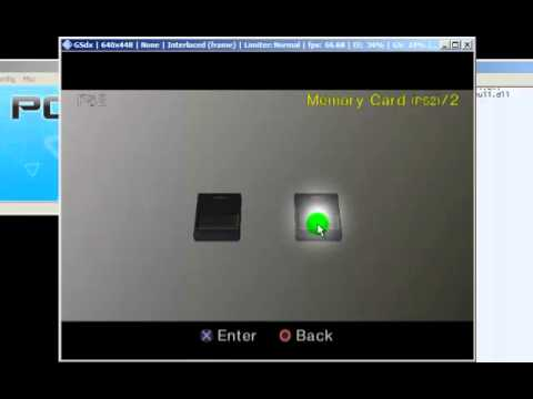How to configure and format memorycard on PCSX2 0.9.8.mp4